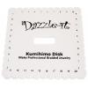 Kumihimo Disk Plate-bulk/25pcs Square Flat Braid